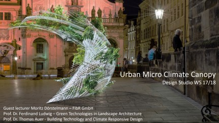Urban Micro Climate Canopy